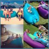 Outdoor Travel Camping Inflatable Lazy Air Lay Sofa