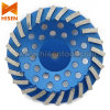 Twisted Diamond Grinding Cup Wheel