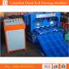Hydraulic Glazed Tile Roll Forming Machinery/Roofing Glazed Tile Process Line
