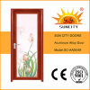 Beautiful Bathroom Door with Tempered Glass (SC-AAD049)