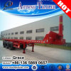 3 Axles 40FT End Dumping Flatbed Container Trailer