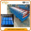 Steel Colored Step Glazed Roof Tile Making Machine