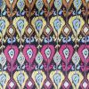 Ikat Jacquard Woven Sofa Armchair Garment Bag Fabrics