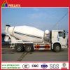 Volume Opptional Concrete Mixer Pump Semi-Trailer