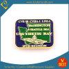 Bay Pin Badge with Baking Finish and Gold Plating From China