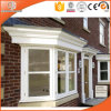Chinese High Quality Wood Bay Bow Window with Grille