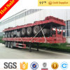 CIMC Brand New 40ft Flat Bed 3 Axles Container Semitrailer