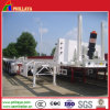 Hydraulic Rear Dumping Trailer Chassis Suspension Container Loder Tippers
