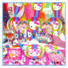 Food Grade Hellokitty Theme Children′s Party Supplies for 6 Person