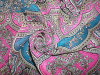 Print Crinkle Crepe Fabric