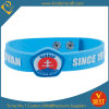 Wholesale Promotional Special Size Button Silicone Wristbands in 3D Screen Printed for Gift