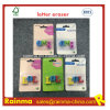 TPR Letter Eraser for Stationery Kids