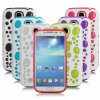 TPU Gel PC Hybird Glow Bubbles Case for Samsung S4 I9500