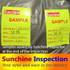 Third Party Inspection Services / Sunchine Inspection Quality Guarantee Before Shipping