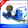Stainless Steel Box Section Tube Plasma Cutting Machine
