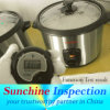 Electric Cooker Final Random Inspection / / Professional Inspection Services for Home Appliance / Sunchine Inspection Third Party Company Inspection