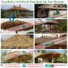 Synthetic Straw Thatch African and Would Like to Make Technical and Fireproof for Roof Resort 123