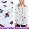 16mm Reactive Printed Crepe De Chine Silk for Lady Shirt