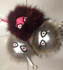 Colorful Faux Fox Real Ball Fur Accessories