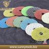 High Glossiness &Long Life Diamond Flexible Polishing Pads for Slabs