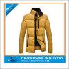 Custom Gold Designer Padded Jacket for Men