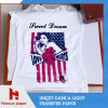 A4 Sheet Size Inkjet PU Film Heat Transfer Paper for Cotton T-Shirt and Cotton Fabric