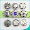 New Style Metal Snaps Charm Button Jewelry