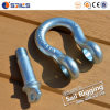 China G209 Us Type Drop Forged Galvanized Anchor Bow Shackle