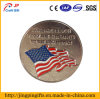 Custom National Flag Emblem Metal Badge