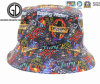 Fashion Top Quality Custom Sublimation Printing Cotton Polyester Fisherman Bucket Hat