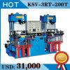 Vacuum Silicone Rubber Compression Molding Hydraulic Press Machine Made in China (KSV)