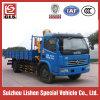 Dongfeng 4X2 Folding Arm Truck Mounted Crane
