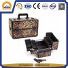 Super Stylish Leopard Cosmetic Makeup Box (HB-2048)