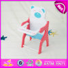 2015 Safe Pinky Wood Baby Doll Chair Toy, Baby Doll Feeding Table with Chair Play Set, Lovely Doll Chair Accessoires Parts W06b031