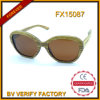 100% Handmade Bamboo Sunglasses with Brown Lens Fx15087