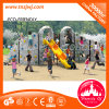 New Design Outdoor Climbing Wall with Slide for Kids