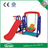 Toddler Swing and Slide Set with Basketball Hoop
