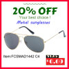 Hot Sale Metal Sunglasses with Stainless Steel Frame Ce, FDA