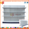 Sale Customized Supermarket Punched Back Retail Display Shelf (Zhs522)