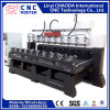 Multi Head CNC Router for Furniture Legs, Armchairs, Handrails