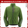 Green Polyester Nylon Performance Softshell Jacket