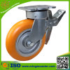 6inch Swivel Locking Industrial PU Caster Wheel