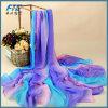 Women Sublimation Fashion Chiffon Silk Long Scarf Shawls Scarves