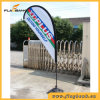 2.8m Exhibition Aluminium Double Side Printing Teardrop Flag/Flying Banner