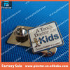 China 12 Years Protect Teeth Experience Metal Custom Souvenir Hat Pin Badge
