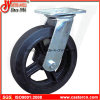 4 Inch to 8 Inch Mold-on Rubber Swivel Casters