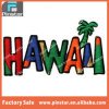 Factory Directly Wholesale High Quality Custom Souvenir Colorful Hawaii Embroidery Patches