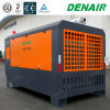 17bar Stationary Diesel Driven Mobile Rotary Screw Type Air Compressors