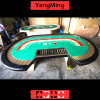 Casino Luxury Gold Color Poker Table Factory Custom Upgrade Gambling Table with 8 Player of 2.8 Meter (YM-BA09)
