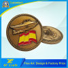 New Customized Antique Gold Military Challenge Coin for Souvenir with Low MOQ (CO36-A)